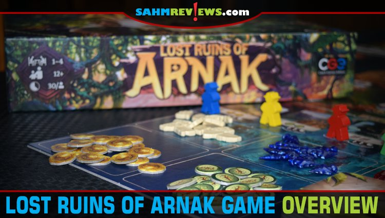 Lost Ruins of Arnak Strategy Game Overview
