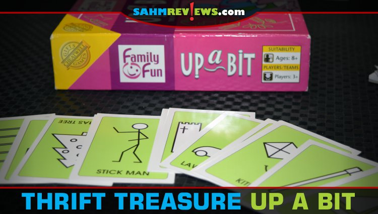 Thrift Treasure: Up a Bit Drawing Game