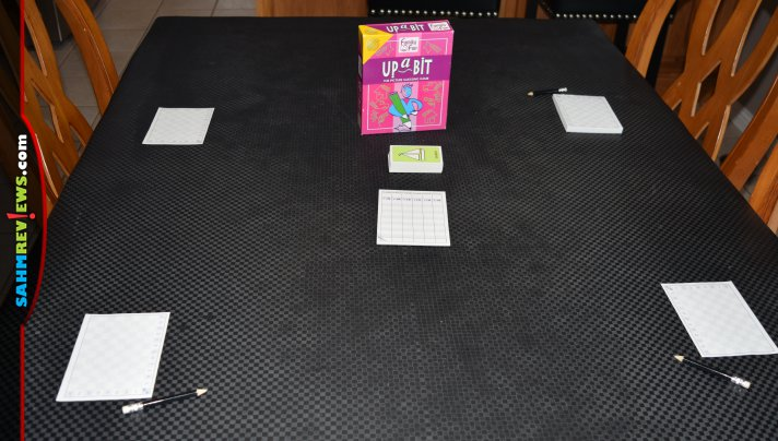 We found this copy of Up a Bit at our Goodwill this week. It's a drawing game that challenges you to describe how to draw something. Harder than it looks! - SahmReviews.com