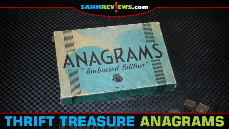 Thrift Treasure: Anagrams Word Game