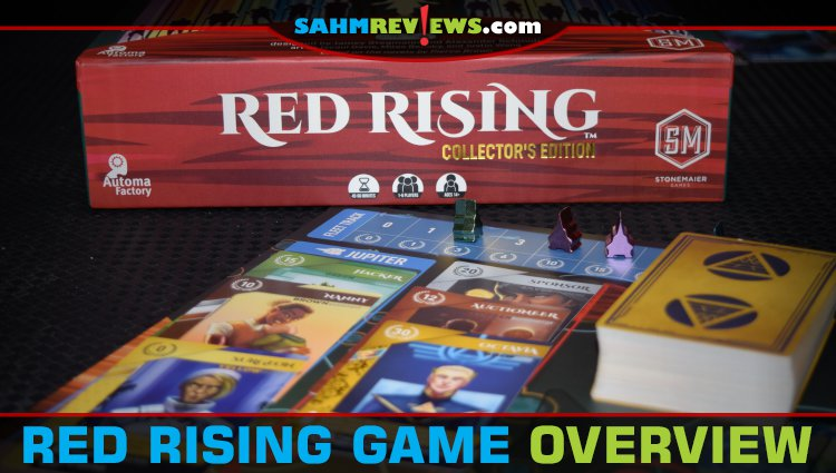 Red Rising Card Game Overview