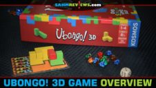 Ubongo 3D Puzzle Game Overview
