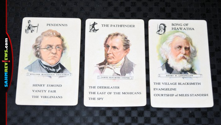 Famous Authors is one of the very first card games I ever played. In fact, I had forgotten about it until I found this copy at thrift! Have you ever played? - SahmReviews.com