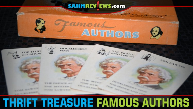Thrift Treasure: Famous Authors Card Game