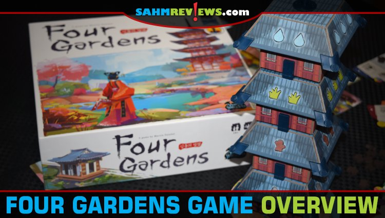 Four Gardens Board Game Overview