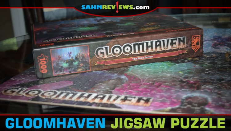OMG! It's a Gloomhaven Jigsaw Puzzle!!