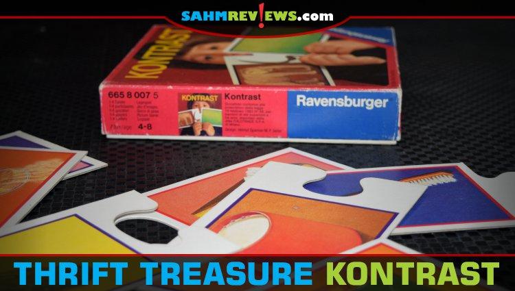 Thrift Treasure: Kontrast Matching Game