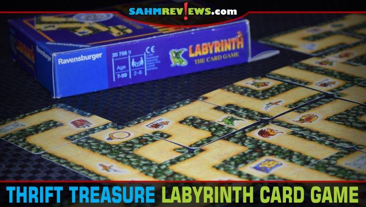 Thrift Treasure: Labyrinth Card Game