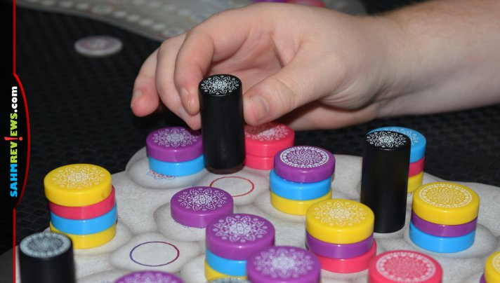 Mandala Stones by Board & Dice is their first foray into the world of abstract games (my favorite). Does it live up to my expectations? (spoiler - yes!) - SahmReviews.com