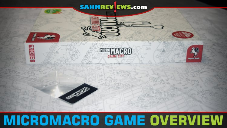 MicroMacro Crime City Game Overview