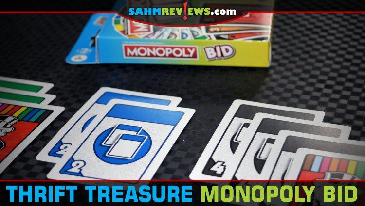 Thrift Treasure: Monopoly Bid Card Game
