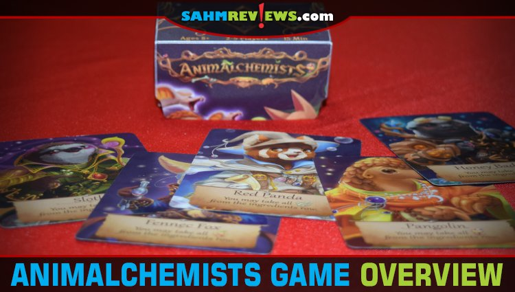 Animalchemists Card Game Overview