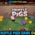 Super Truffle Pigs from Games by Bicycle is a family-friendly game about a treasure hunt for truffles! - SahmReviews.com
