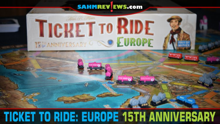 Ticket to Ride: Europe 15th Anniversary Edition Game Overview