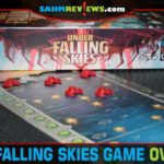 Under Falling Skies is a solitaire alien combat game from Czech Games Edition with options for a standard game or campaign mode. - SahmReviews.com