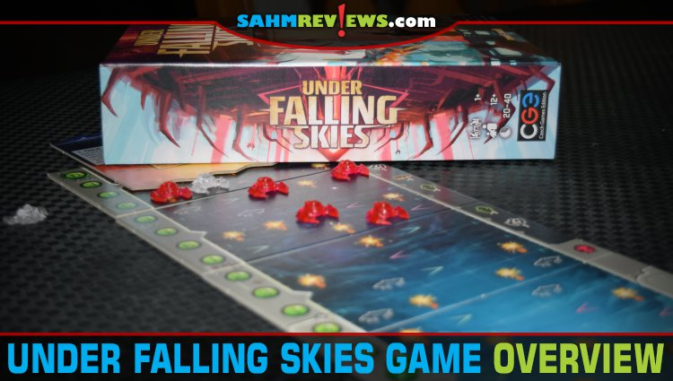 Under Falling Skies Solitaire Game Overview