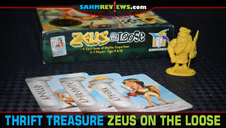 Thrift Treasure: Zeus on the Loose Card Game