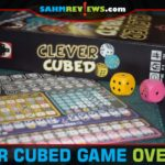 Clever Cubed dice game is the latest in the That's Pretty Clever line of roll and write titles from Stronghold Games. - SahmReviews.com
