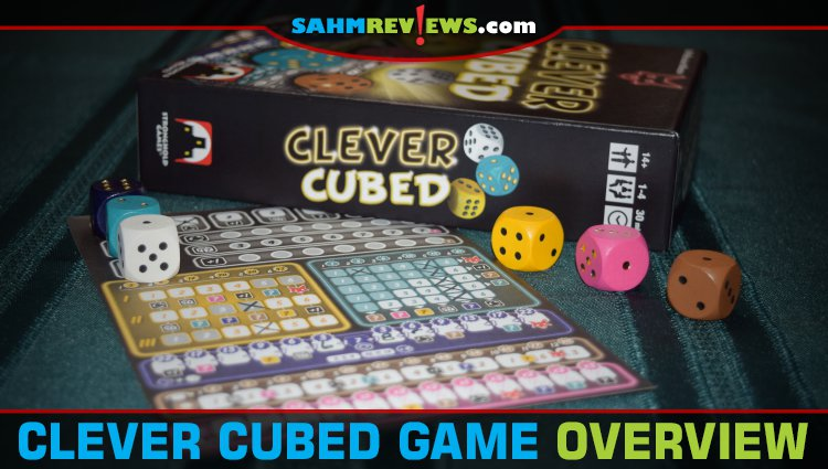 Clever Cubed Roll & Write Game Overview