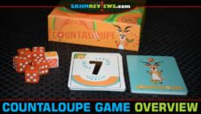 Countaloupe Push Your Luck Dice Game Overview