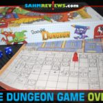 Doodle Dungeon from Pegasus Spiele isn't your typical dungeon fighting game. This game has you creating and fighting in your own dungeon! - SahmReviews.com