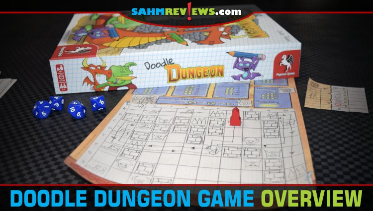 Doodle Dungeon Fantasy Game Overview