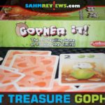 Gopher It! features a fun push-your-luck challenge while trying to collect food for the winter. This card game is this week's thrift treasure! - SahmReviews.com