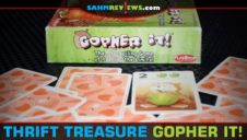 Thrift Treasure: Gopher It! Card Game