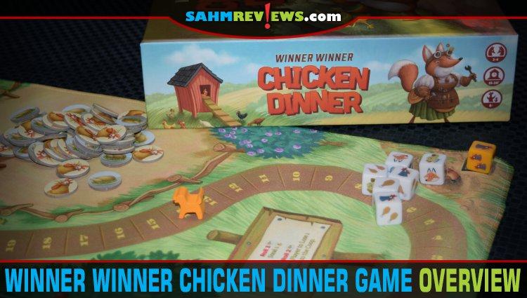 Winner Winner Chicken Dinner Dice Game Overview