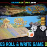 Lost Cities Roll & Write from Kosmos is a variation of the board and card games of the same name. - SahmReviews.com