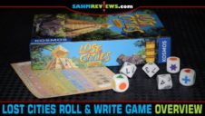 Lost Cities Roll & Write Game Overview