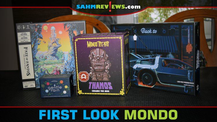First Look: Mondo Games and Collectibles