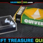 Decent games and puzzle finds don't only happen at Goodwill. Our local D.A.V. Thrift Store coughed up this cool Quiver puzzle from the 70's! - SahmReviews.com