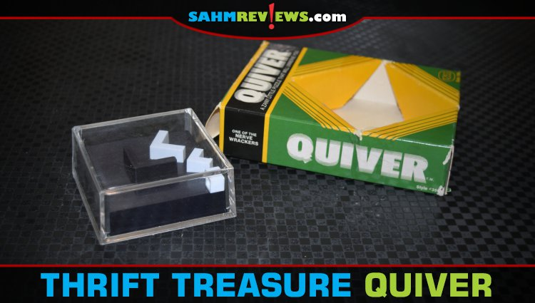 Thrift Treasure: Quiver Dexterity Puzzle
