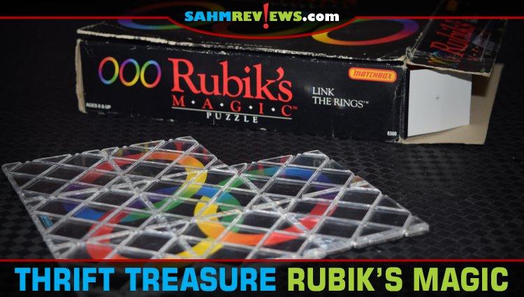 Thrift Treasure: Rubik's Magic Puzzle