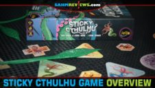 Sticky Cthulhu Dexterity Game Overview