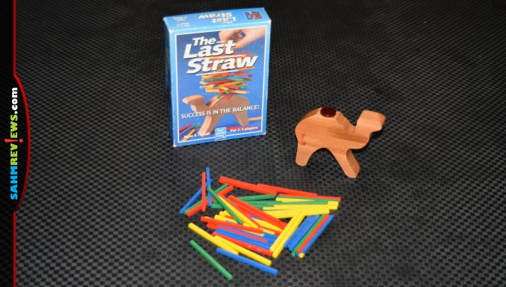 Puzzles weren't the only things we found at the D.A.V. Thrift Store. This copy of The Last Straw was only 65 cents! - SahmReviews.com