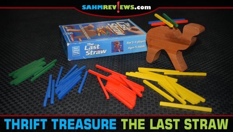 Thrift Treasure: The Last Straw Dexterity Game